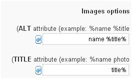 קידום אתרים בוורדפרס- הגדרת seo friendly images